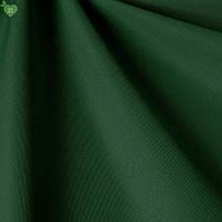 Однотонная уличная ткань глубокого темно-зеленого цвета акрил