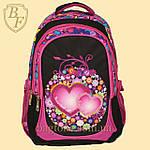 Школьный рюкзак  Edison  для девочки черный, фото 2
