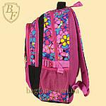 Школьный рюкзак  Edison  для девочки черный, фото 3