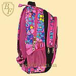 Школьный рюкзак  Edison  для девочки черный, фото 4