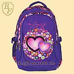 Школьный рюкзак  Edison  для девочки фиолетовый, фото 2