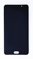 Дисплейный модуль Meizu PRO 6 Plus оригинал в рамке (черный)