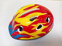 Шлем детский защитный красный