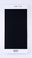 Дисплейный модуль Meizu PRO 6 Plus оригинал в рамке (белый)