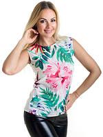 Блуза женская с принтом