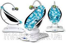 Укачивающий центр кресло-качалка 4Moms Mamaroo (2.0) голубой