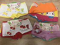 Трусы детские, трусики-шортики для модниц до 10 лет (2201)