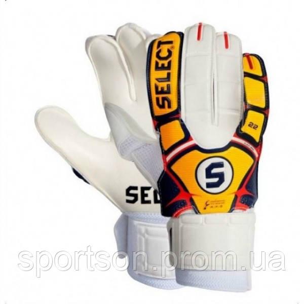 Вратарские перчатки Select 22 FLEXI GRIP (оригинал)