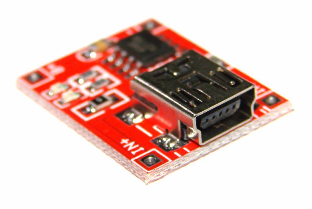 TP4056 модуль плата заряду літієвих LI-ION акумулятора 18650 - mini USB