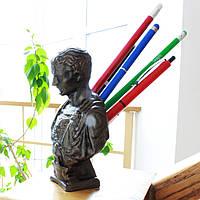 Цезар - підставка для ручок і олівців, виготовлений з скульптурного високоміцного гіпсу пофарбований під бронзу, фото 1