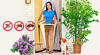 110*210 sm Москитные сетки на двери на магнитах 110x210