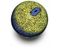 Мяч для футбола Lotto BALL FB500 LZG 5 (оригинал)