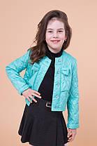 Демисезонная куртка для девочек «Париж», фото 2
