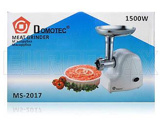 Мясорубка электрическая Domotec 1500Вт MS-2017