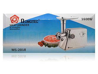 Мясорубка электрическая Domotec 1600Вт MS-2018