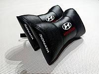 Подушка на подголовник Hyundai Sonata черная
