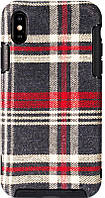 Чехол-накладка Remax Fabric Series Case Apple iPhone X Red