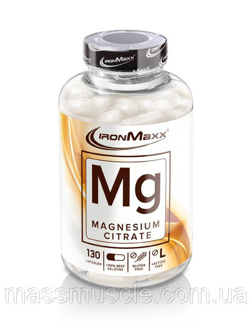 Витамины IronMaxx Mg-Magnesium Citrate 130 caps