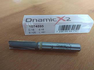 Фреза прямая DIMAR Dnamicx2 D=8 B=25 L=67 d=8