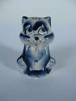 Кот Киска маленькая синяя (Гжель)