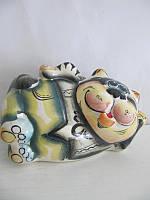 Кот Таити цветной (Гжель)