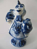 Петух Телефонист синий (Гжель)