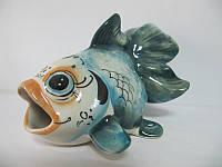 Рыба Вуалехвост цветная (Гжель)