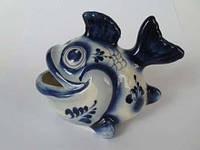 Рыба большая синяя (Гжель)