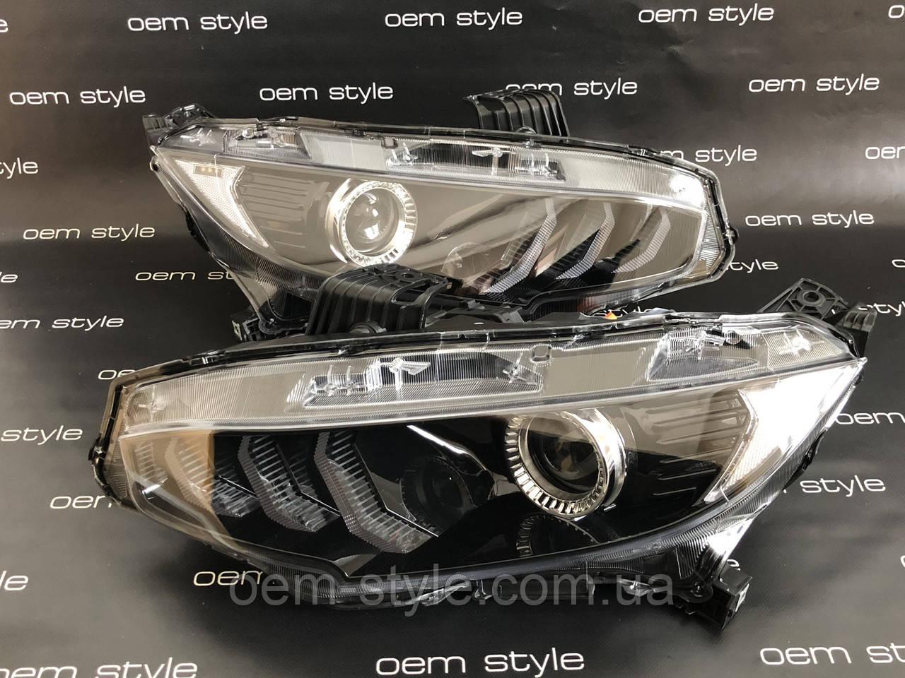 Фари оптика Honda Civic 2016-2018