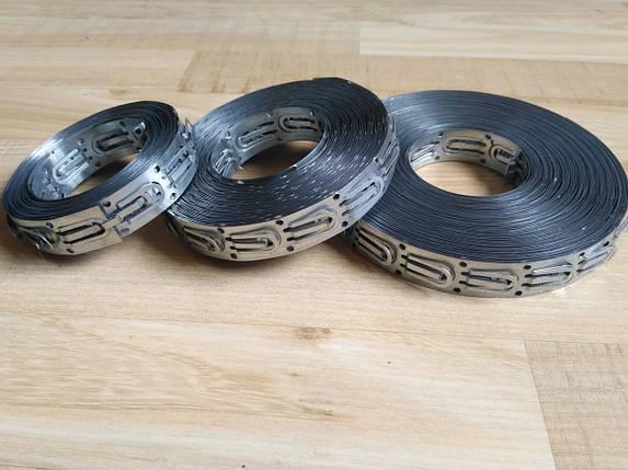 Монтажная лента LO-25 мм для крепления кабеля теплого пола, фото 2