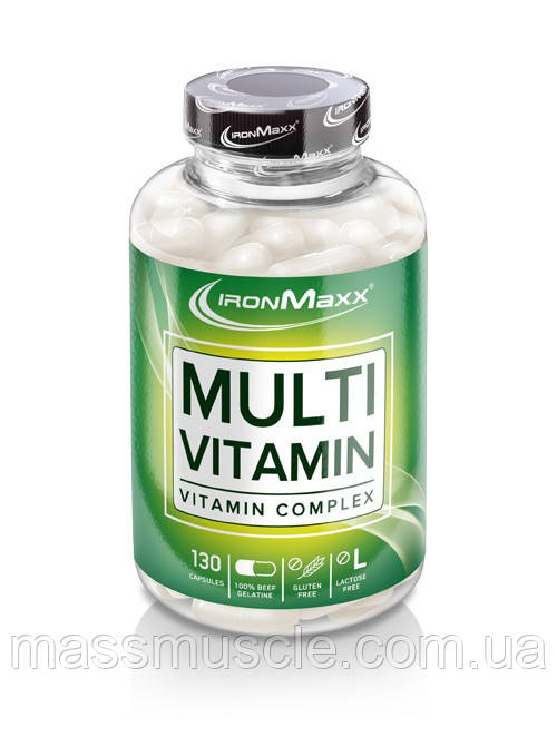 Вітаміни IronMaxx Multivitamin 130 caps