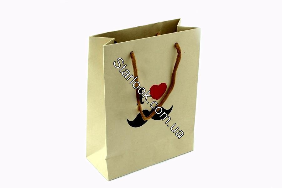 Подарочный пакет Я люблю Усы