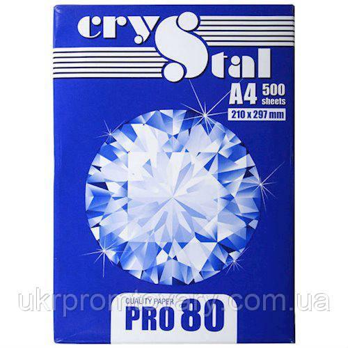 Бумага 80 А4 Crystal Pro 80