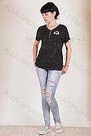 Блуза трикотажная 7005-141/2-238 полубатал от производителя Украина