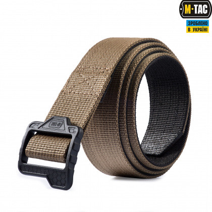 M-TAC РЕМЕНЬ DOUBLE DUTY TACTICAL BELT HEX COYOTE/BLACK