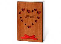 """Оригинальная открытка  """"Для тебя"""" сувенир для любимого"""