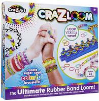Набор сделай сам яркие браслеты из резиночек своими руками CraZArt из США