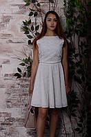 """Платье с открытой спиной и бантами """"Джоли"""", фото 1"""