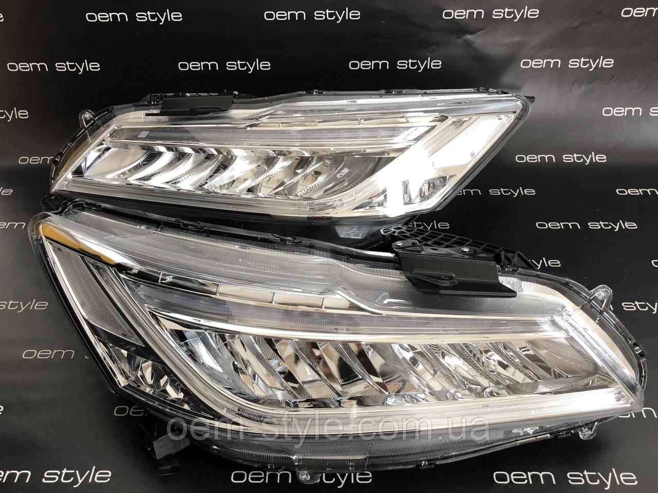 Передняя LED оптика для Honda Accord 9  2016-2017