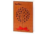 """Необычные открытки ручной работы  """"Люблю тебя"""" сувенир для любимой девушки, фото 1"""