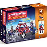 Магнитный конструктор Magformers Крейсеры XL Служба спасения 33 элемента, фото 1