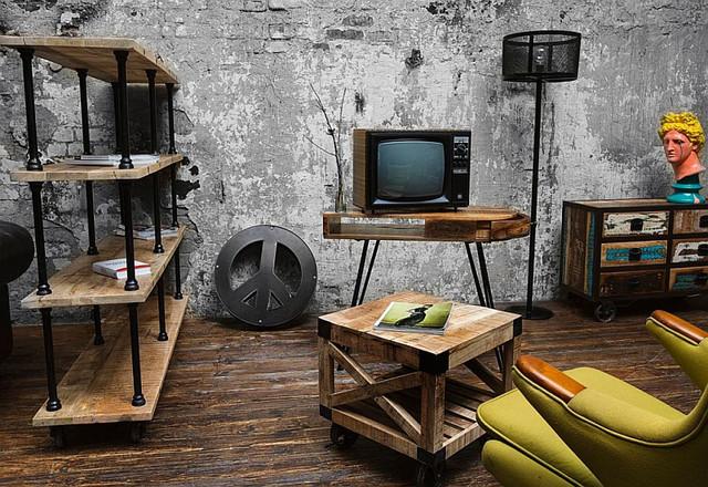 Интерьер и мебель в стиле лофт