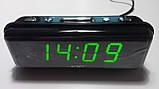 Годинник мережеві VST 738-4 салатовий, фото 2