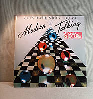 CD диск Modern Talking - Let's Talk About Love