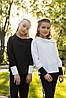 """Школьная блузка для девочки """" SH - 49 """""""