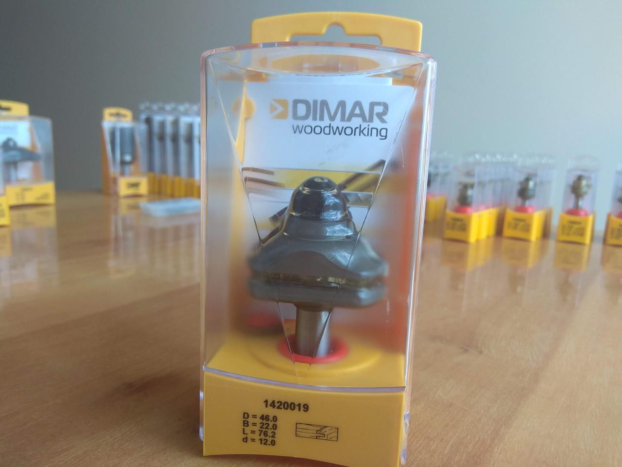 Фреза для изготовления обвязки DIMAR D46 B22 L76 d12