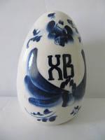 Яйцо среднее синее (Гжель)