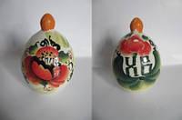 Яйцо малое цветное (Гжель)