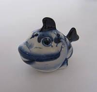 Рыбка малая синяя (Гжель)