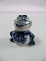 Жабка маленькая синяя (Гжель)